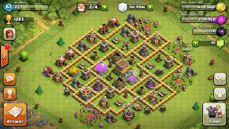 coc defense layout th8 clash of clans best defense layout th8