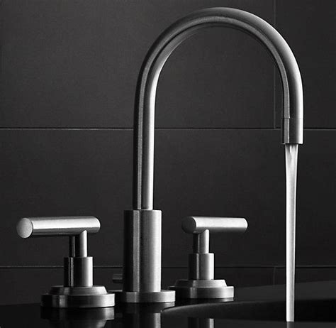 restoration hardware bathroom faucets spritz 8 quot widespread faucet set from restoration hardware