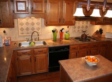 What Color Granite Countertops With Oak Cabinets by Best Granite Color For Oak Cabinets Nrtradiant