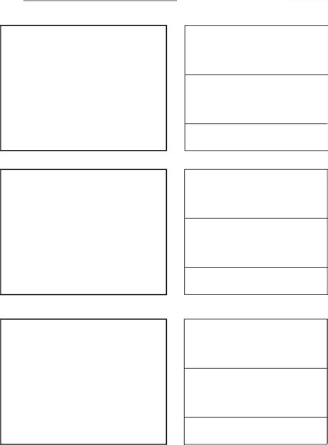 template for vertical storyboard template for free tidyform