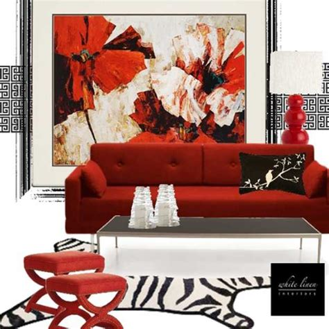 red home accessories decor 15 interior decorating ideas adding bright red color to