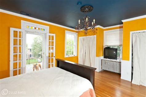 Yellow Walls Grey Ceiling Grey Ceiling Yellow Walls Rooms