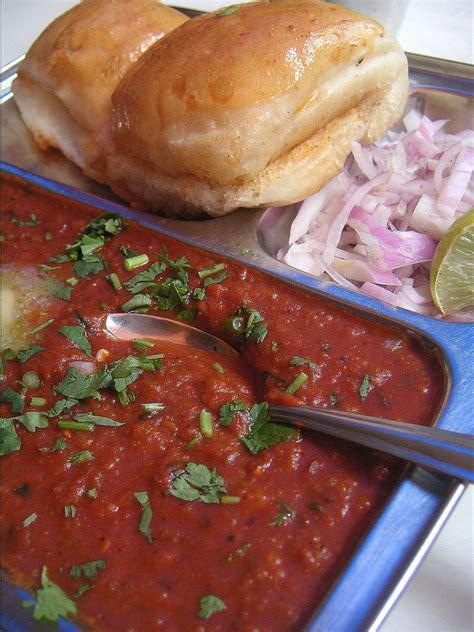 indian food pav bhaji pav bhaji