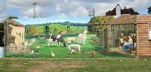 Farm Wall Murals kaipatiki community facilities trust