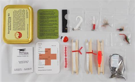 emergency fishing kit   glide ase boundary waters catalog