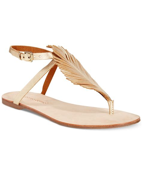 Como Shoes by Lyst Corso Como Edgar Flat Sandals In Metallic