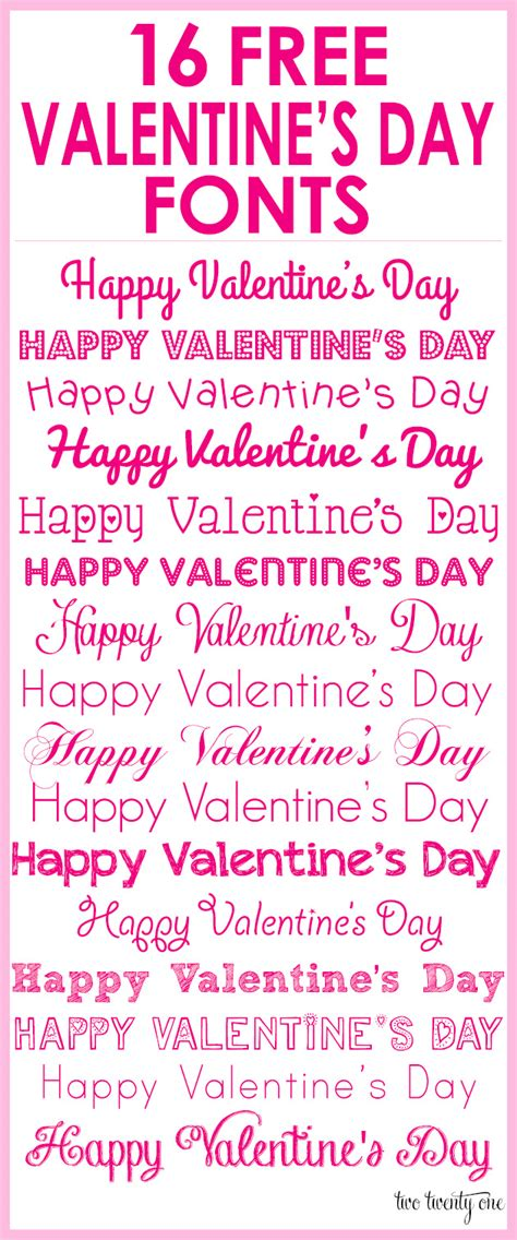 happy valentines day font free s day fonts
