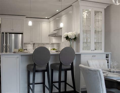 grey kitchen bar stools gray barstools transitional kitchen deslaurier