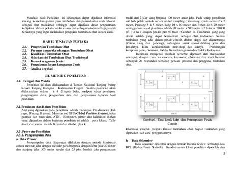 contoh jurnal penelitian tanaman obat kimcil