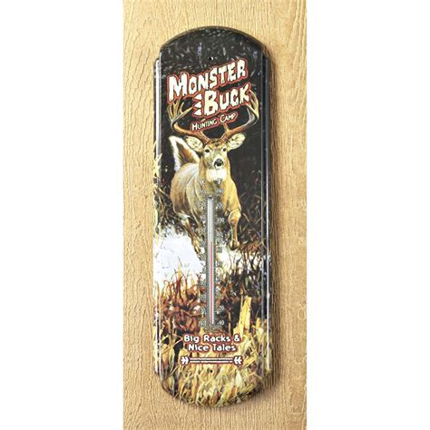 where is tin buck river s edge tin big buck thermometer 503942 weather vanes