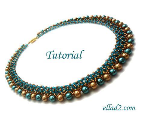 tutorial freya necklace bead pattern