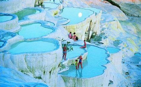 cotton castle pamukkale travel spot in turkey travelling colors