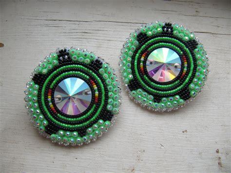 beaded american earrings american beaded earrings