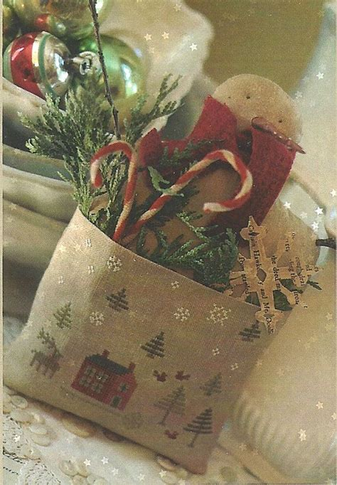 oh christmas string folk art 603 best images about primitive slers cross stitch on