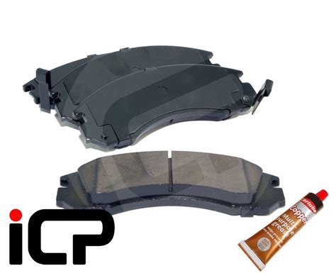 Brake Pad Mitsubihi Kuda mitsubishi lancer evo evolution 4 front brake pads grease cn9a 4g63 gsr rs ebay