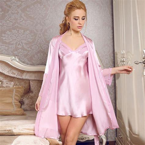 Original Hm Soft Lace Sleepwear counters authentic silk pajamas silk