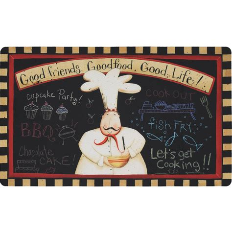mohawk home comfort mohawk home comfort mat good friends food life kitchen mat