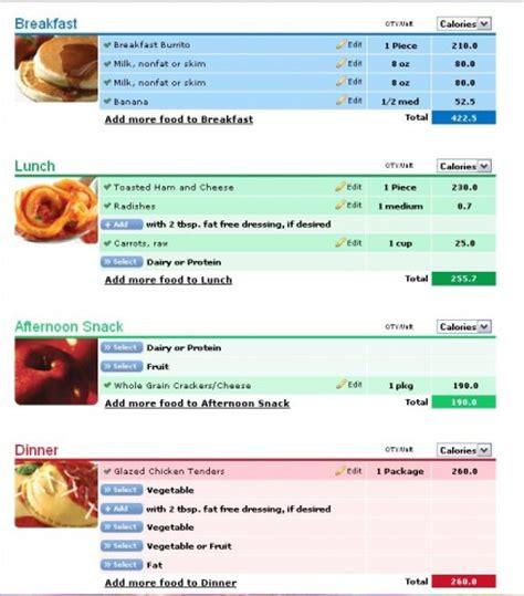 nutrisystem printable meal planner nutrisystem 10 day challenge day 4