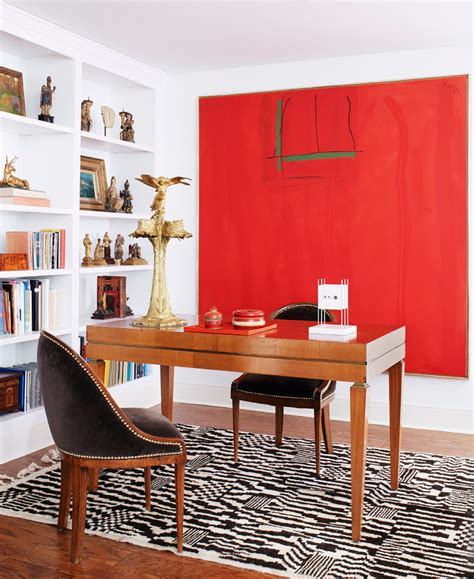 red home accessories decor home office decor dvf style better decorating bible red