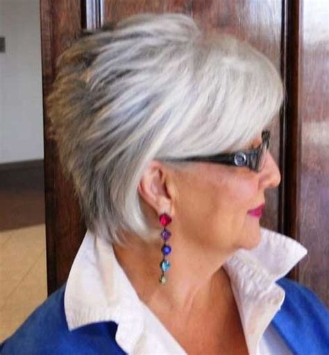 Hairstyles For 60 by Grey Hair For 60