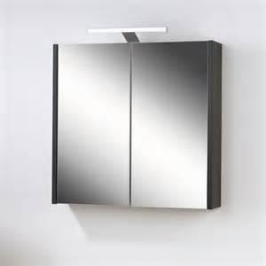 bad spiegelschrank mit led beleuchtung bad spiegelschrank davork in schwarz wei 223 pharao24 de