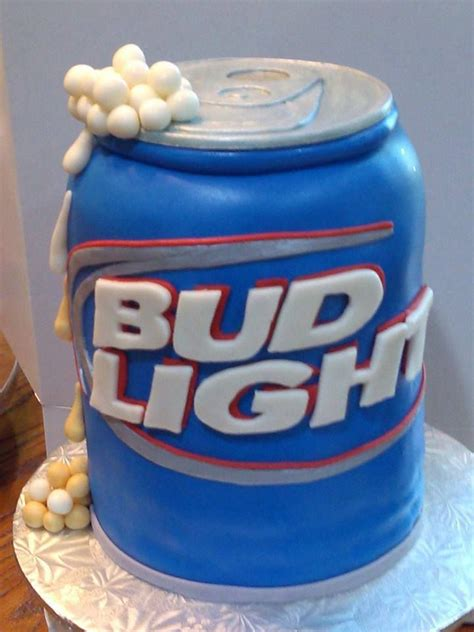 34 Best Images About Bud Light Beer Cakes On Pinterest Light Cakes