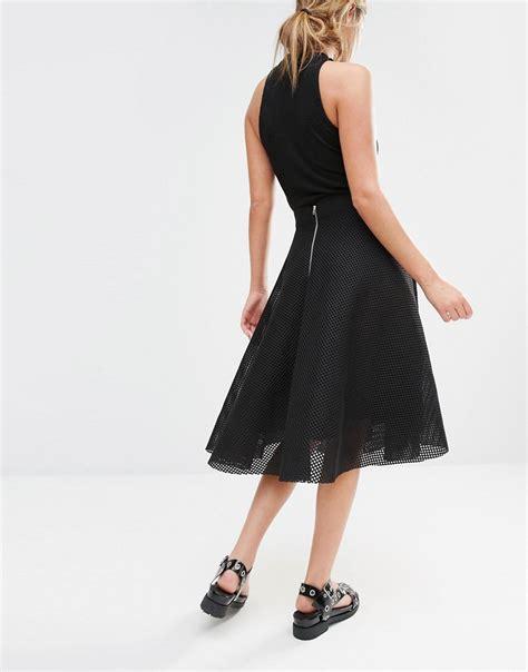 new look new look midi skirt at asos