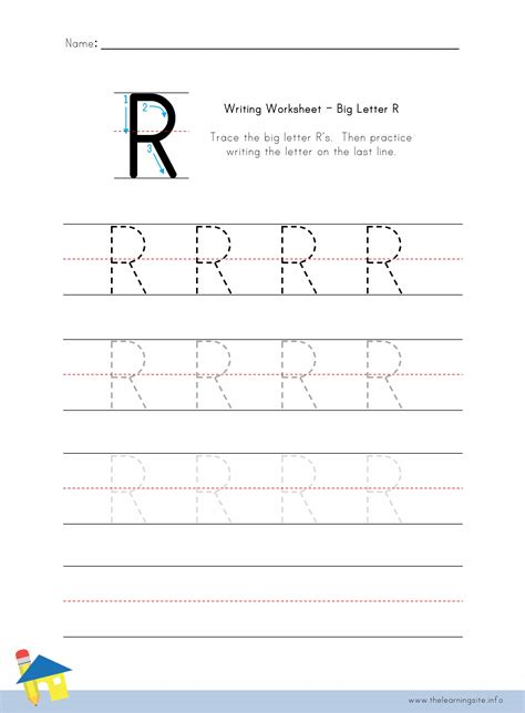 letter r worksheets the learning site 1435