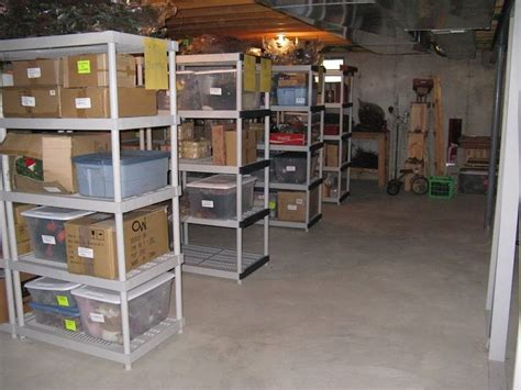 how to organize your basement 8 things to do right away for an organized basement