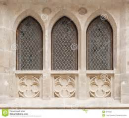 Pictures Of Window Seats - castle windows royalty free stock photo image 10490555