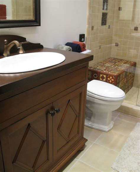 five seating ideas suitable for a bathroom