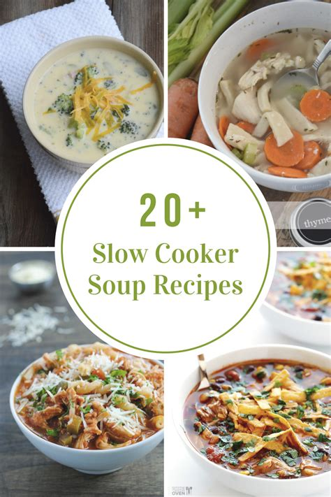 libro slow cooker recetas slow cooker soup recipes the idea room