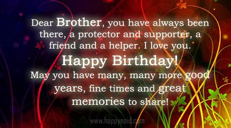 Quotes For Your Brothers Birthday Happy Birthday Big Brother Quotes Quotesgram