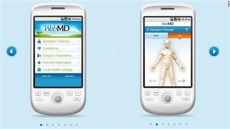webmd mobile apps 8 apps that make health care a breeze