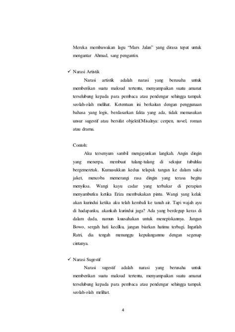 contoh laporan narasi singkat contoh cerpen narasi contoh 0108