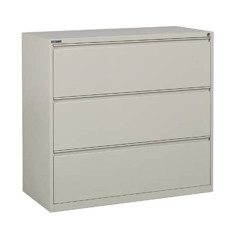 Metal Lateral Filing Cabinets Lateral File 3 Drawer 42 Inch Metal
