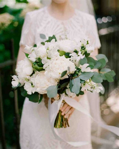 white flower wedding arrangements the 50 best wedding bouquets martha stewart weddings