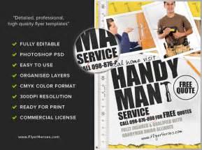 handyman flyer template flyerheroes
