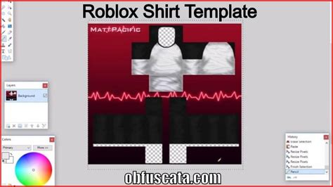 roblox ad template roblox shirt template