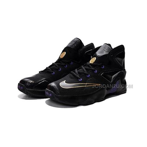nike basketball sneakers lebron 13 gold purple black price 79 00 new air shoes
