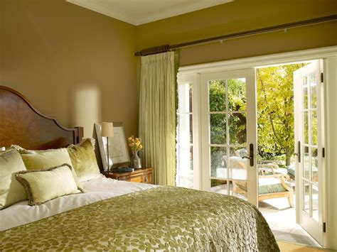 bedroom french doors cozy guest retreat sarah barnard hgtv