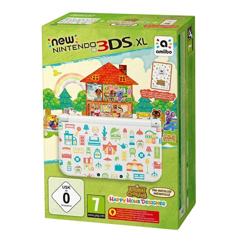 animal crossing 3ds console nintendo new 3ds xl blanche animal crossing happy