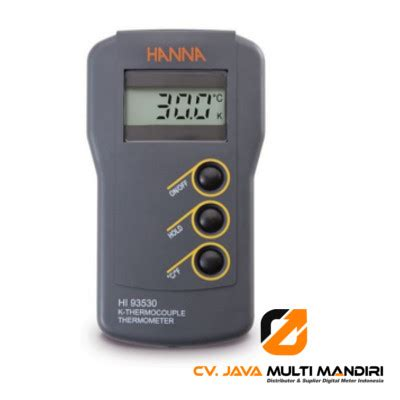 Termometer Lapangan termometer instrument hi93530 alat ukur indonesia