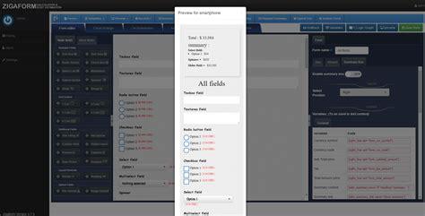 calculator php zigaform php calculator cost estimation form builder