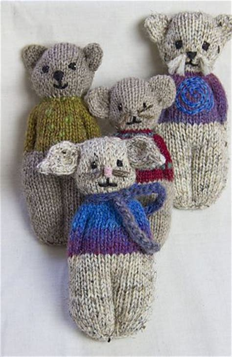 ravelry knitted toys animal comfort dolls pattern by p k ravelry