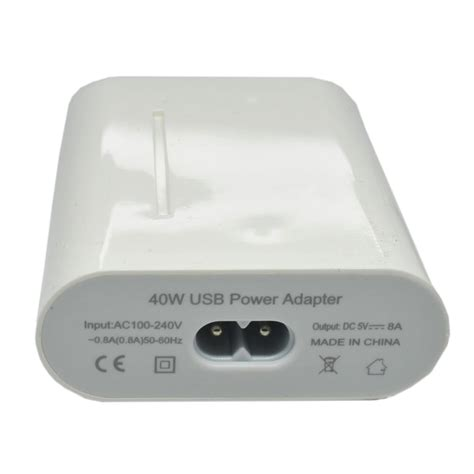 Travel Adapter Charger 5 Usb Ports 40w 8a 5 ports usb charger travel adapter 40w 8a eu white jakartanotebook