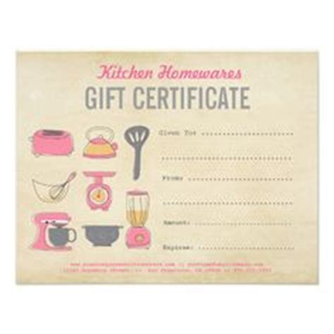 diy gift voucher template kitchen homewares gift certificate gift voucher diy