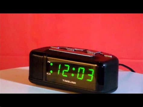 timelink  loud digital led electric alarm clock youtube