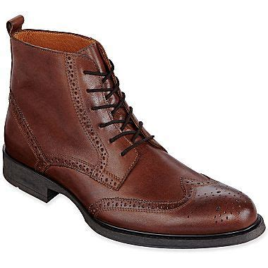 jc mens boots stafford 174 camlin mens boots jcpenney shoes