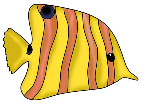 Underwater Wall Stickers fish clip art